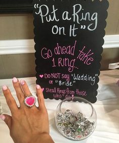 Such a perfect game for the bridal shower or bachelorette party! || Shared By: @beecamara_xo Baby Wedding, Lilac Wedding, Wedding Fun, Bachelor Party Favors, Bachelorette Party Games, Disney Bridal Showers, 80s Party, Bride, Wedding Decorations