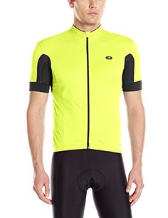 Sugoi Mens Evolution Jersey Super Nova Yellow Large -- Want additional  info  Click on the image. 7a62ca8a2