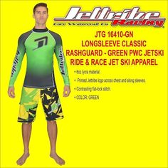 Please visit www.jettribe.com to see more information regarding this product. JTG 16410-GN LONGSLEEVE CLASSIC RASHGUARD #jet ski goggles # helmet jet ski #jet ski apparel # jet ski clothes #jet ski clothing # jet ski cover kawasaki #jet ski cover sea doo #jet ski equipment #jet ski covers Yamaha #jet ski gear #jet ski helmets #jet ski life vest #jet ski pdf #jet ski shoes #jet ski wetsuits #jet ski covers #kawasaki jet ski covers #jet ski cover #kawasaki pwc cover #pwc apparel #pwc gear #sea…