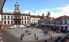 Museu da Inconfidência, na Praça Tiradentes, Ouro Preto (MG)