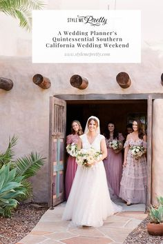 Today we're sharing all the details from a wedding planner's quintessential Southern California wedding weekend! Head to SMP to read more about this stunning Santa Barbara fête and all the special meanings incorporated throughout. ✨ Photography: @laciehansen  #weddingplanning #santabarbarawedding #romanticwedding #weddingdetails #weddinginspo California Wedding, Southern California, Wedding Weekend, Bridesmaid Dresses, Wedding Dresses, Santa Barbara, Kids Rooms, Wedding Details, Wedding Planner