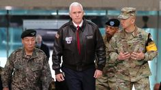 US Vice President Pence visits DMZ amid high tensions with North Korea
