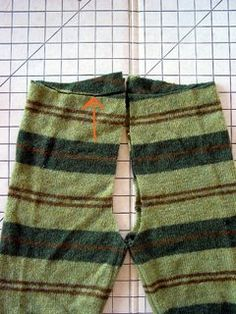 Most current Pictures sewing pants tutorial Strategies Hosen aus alten pullovern Toddler Sweater, Toddler Pants, Baby Pants, Kids Pants, Toddler Outfits, Sewing Pants, Sewing Kids Clothes, Diy Clothes, Sewing Patterns For Kids