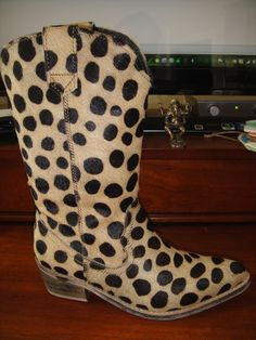 LEOPARD PRINT COWGIRL BOOT
