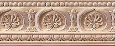 Montgomery wood crown molding carved with acanthus leaf design Wood Crown Molding, Moulding, Painted Staircases, Inviting Home, Hand Carved, Carved Wood, Wood Design, Leaf Design, Textile Patterns