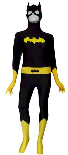 DC Comics Batgirl Costume Zentai Bodysuit Body Stocking