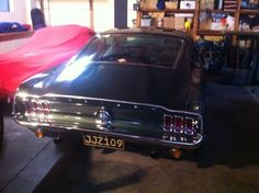 Mustang with Bullitt Plates: A Little Slice Of Heaven - Australian National Old Car Spotters Club