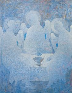 Marriage Icons - Ventzislav Piriankov: Other Sacral-Icon paintings by Ventzislav Piriankov Religious Icons, Religious Art, Tantra Art, Biblical Art, Creative Artwork, Catholic Art, Art Icon, Human Art, Naive Art
