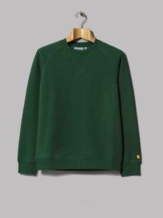 Carhartt WIP Chase Sweatshirt (Fir / Gold)