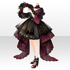 Model Outfits, Girl Outfits, Cute Designs, Designs To Draw, Clothing Sketches, Royal Dresses, Royal Clothing, Anime Dress, Cocoppa Play