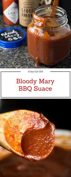 If you love Bloody Mary's, this Blood Mary Barbecue Sauce is for you - spicy, smoky and just a hint of sweetness. Use it on pulled pork, chicken, steaks, burgers, etc.