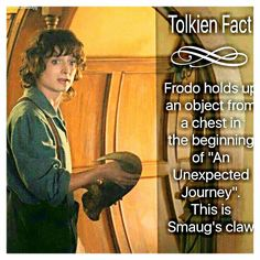 Smaug's claw. Bilbo, what the heck you brought that back???