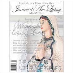 Jeanne d'Arc Living Magazine August 2015