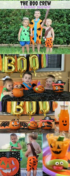 Trick or Treat Halloween Paper Straws Pinterest Halloween - kids halloween party decoration ideas