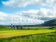 isolated monastry nearby the lake royalty-free stock photo