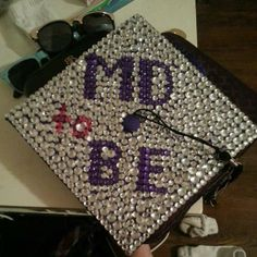 """Victoria Nettles, biology major: """"My cap says 'MD to be' because I'll be attending the University of Texas medical branch in Galveston in or..."""