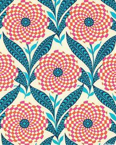 Eternal Sunshine - Zebra Bloom -  Quilt Fabrics from www.eQuilter.com