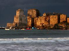 Castle of Methoni - Messinia, Peloponnese / by ©haddock(away), via Flickr