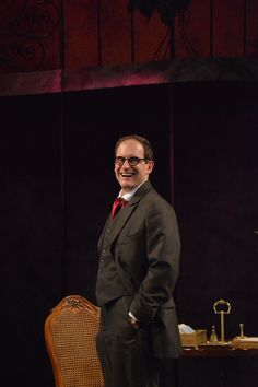 Anthony Fusco at the Pygmalion dress rehearsal. Photo by Jay Yamada.