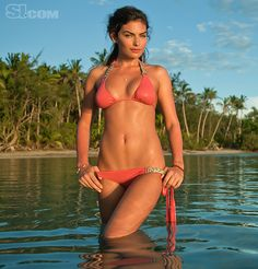 Alyssa Miller - Sports Illustrated Swimsuit 2011 Location: Turtle Island, Fiji, Turtle Island Swimsuit: Swimsuit by Beach Bunny Swimwear Photographed by: Walter Iooss Jr.