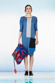 Kimono style knitted dress