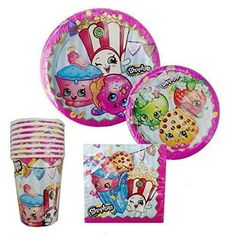 Shopkins Party Supply Standard Kit Serves 8 -- Check out the image by visiting the link.