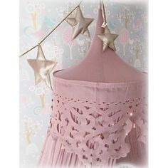 Numero74 Lanna Canopy & Gold Mini Star Garland