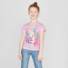 Whether she wants to collect them all, or has just one favorite, your girl is sure to love the Fingerlings Short-Sleeve T-Shirt. In a pale shade of pink, thi Black Kids Fashion, Canvas Sneakers, Your Girl, Tee Shirts, Short Sleeves, Shorts, Cute, Pattern, Cotton