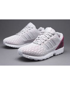 5ee2d0c082de3 sale cheap adidas zx flux womens white and pink trainers online