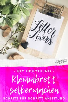 Letter Lovers: beyzacreates zu Gast im Lettering Interview Diy Upcycling, Upcycle, Diy Inspiration, Diy Pins, Flask, Barware, Super, Creative, Diy Fotos