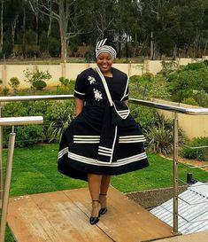 Xhosa Attire, African Attire, African Dress, African Clothes, African Fashion Dresses, Fashion Outfits, African Traditional Wear, Traditional Clothes, Church Attire