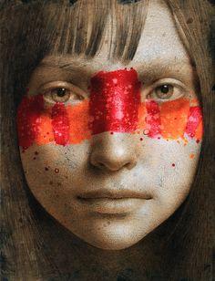 Michal Lukasiewicz aka kooookooookooookoooo was born in 1974 in Pulawy, Poland - lives and work in Antwerp, Belgium.