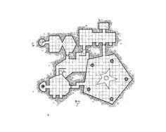 #Mapvember Day 29 : #TheLastStand The diabolical sorcers are doing a black mass around the altar and its basin filled with blood. Some victims wait their turn in the cells not far away. This map enlarges the level collection for the modular dungeon. As usual you can download Free High quality map for your personal use on the blog : https://kosmicdungeon.wordpress.com/2016/11/30/additional-5room-level-mapvemebr-day-29/ #Rpg #Map #Jdr #Mapvember2016