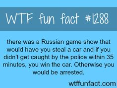 Russian GTA game show  MORE OF WTF FACTS are coming HERE  games, movie and fun facts