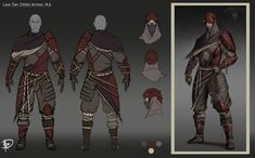 ArtStation - Beyond Skyrim: Dunmer Low Tier Chitin Armor Pack 2., Nicolò Rivello Elder Scrolls Morrowind, Number Two, Skyrim, Concept Art, Sci Fi, Fantasy, Superhero, Artwork, Fictional Characters