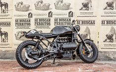BMW K100 Cafe Racer by Lolana Motos - Photos by Juan Jaramillo #motorcycles #caferacer #motos | caferacerpasion.com