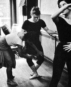 james dean taking ballet classes in NYC