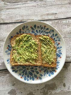 Avocado & Hummus on Toast. Delicious :)