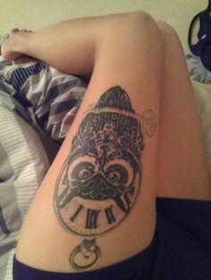 #Myowl#tattoo Just love my owl!