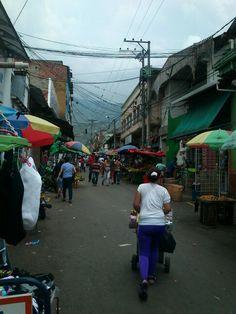 Mercado en Colombia, piedecuesta.