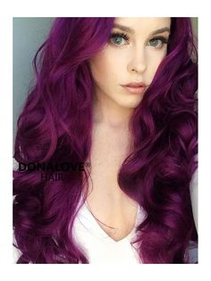 Women Pink Wigs Lace Front Hair Baby Pink Hair With Dark Roots Pastel Pink And Blue Hair Pastel Pink Mens Hair – cressral Cute Hair Colors, Fall Hair Colors, Hair Color Purple, Hair Dye Colors, Cool Hair Color, Dark Purple, Long Purple Hair, Bright Purple Hair, Violet Hair Colors