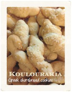 joie de vivre.: Possibly the best and easiest Christmas cookie ever: YiaYia's Greek Koulourakia Recipe With Printable