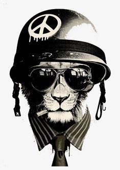 Office Warfare Fine Art Print by Hidden Moves. Authentic giclee print artwork on paper or canvas. Wall Art purchases directly support the artist. Office Warfare, Tattoo Gato, Artwork Prints, Fine Art Prints, Digital Foto, Cats Tumblr, Man Cave Home Bar, Thundercats, Street Art