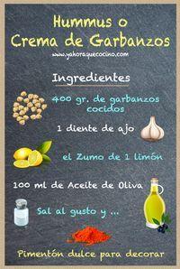 Ingrediente para Hacer Hummus o Crema de Garbanzos // ingredients to cook humus . Ingredient to Make Hummus or Chickpea Cream // ingredients to cook humus or chickpeas cream. Veggie Recipes, Vegetarian Recipes, Cooking Recipes, Healthy Recipes, Cooking Pork, Cooking Tips, Healthy Snacks, Healthy Eating, Clean Eating Snacks
