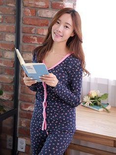 Banibella Lauren Flowers homewear sleepwear / cotton 100% / the best quality