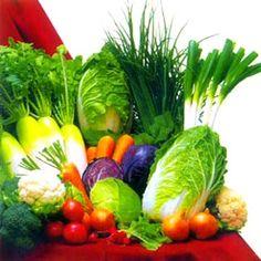 El arco iris de la dieta saludable!