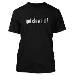 got chevrolet? Funny Adult Mens T-Shirt Black X-Large