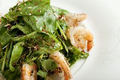Nobu's Spinach and Dry Miso Salad with Truffle oil and parmesan- to die for!