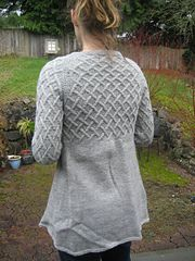This is my first attempt at translating my idea for a garment into something someone else might want to knit and can understand the instructions for. All feedback is much appreciated! This pattern hasn't been test knit yet and as such the directions are only for size small; sorry for any inconvenience!