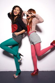 Bella and Zendaya at a photoshoot! This is one of my FAVORITE pictures! -Emmy
